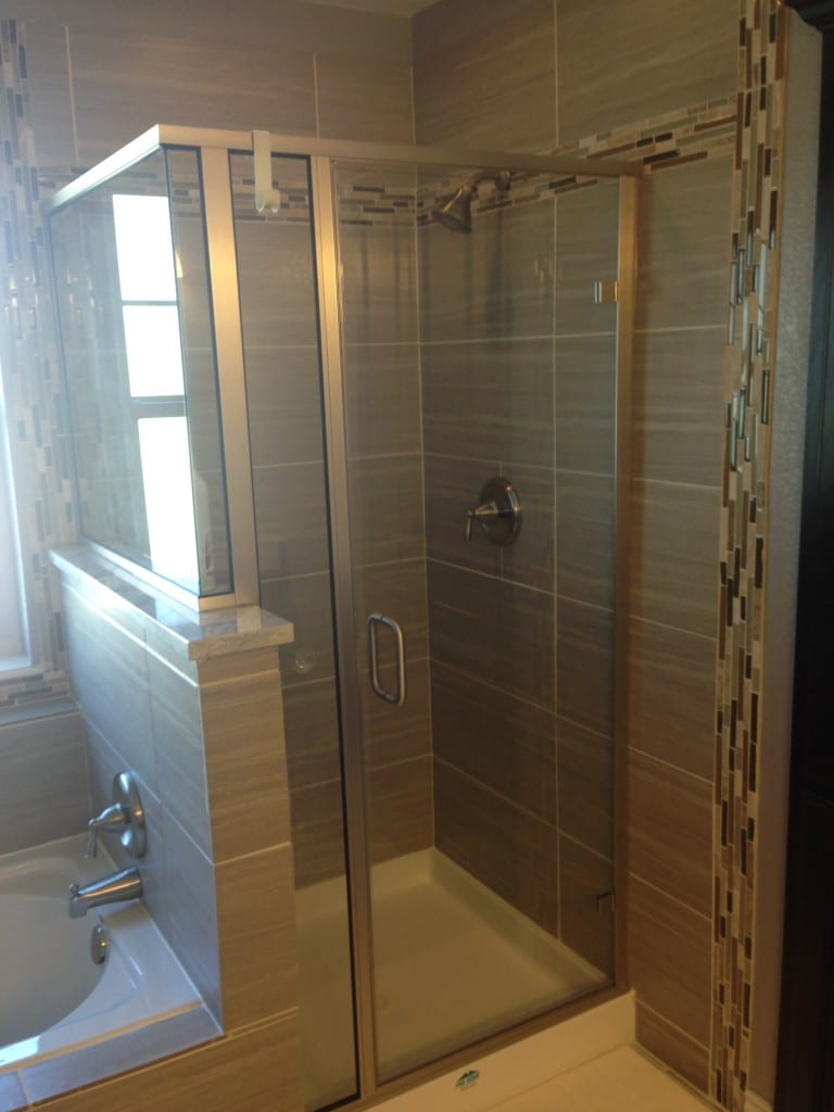 Caddo Mills Bathroom Remodel-Shower