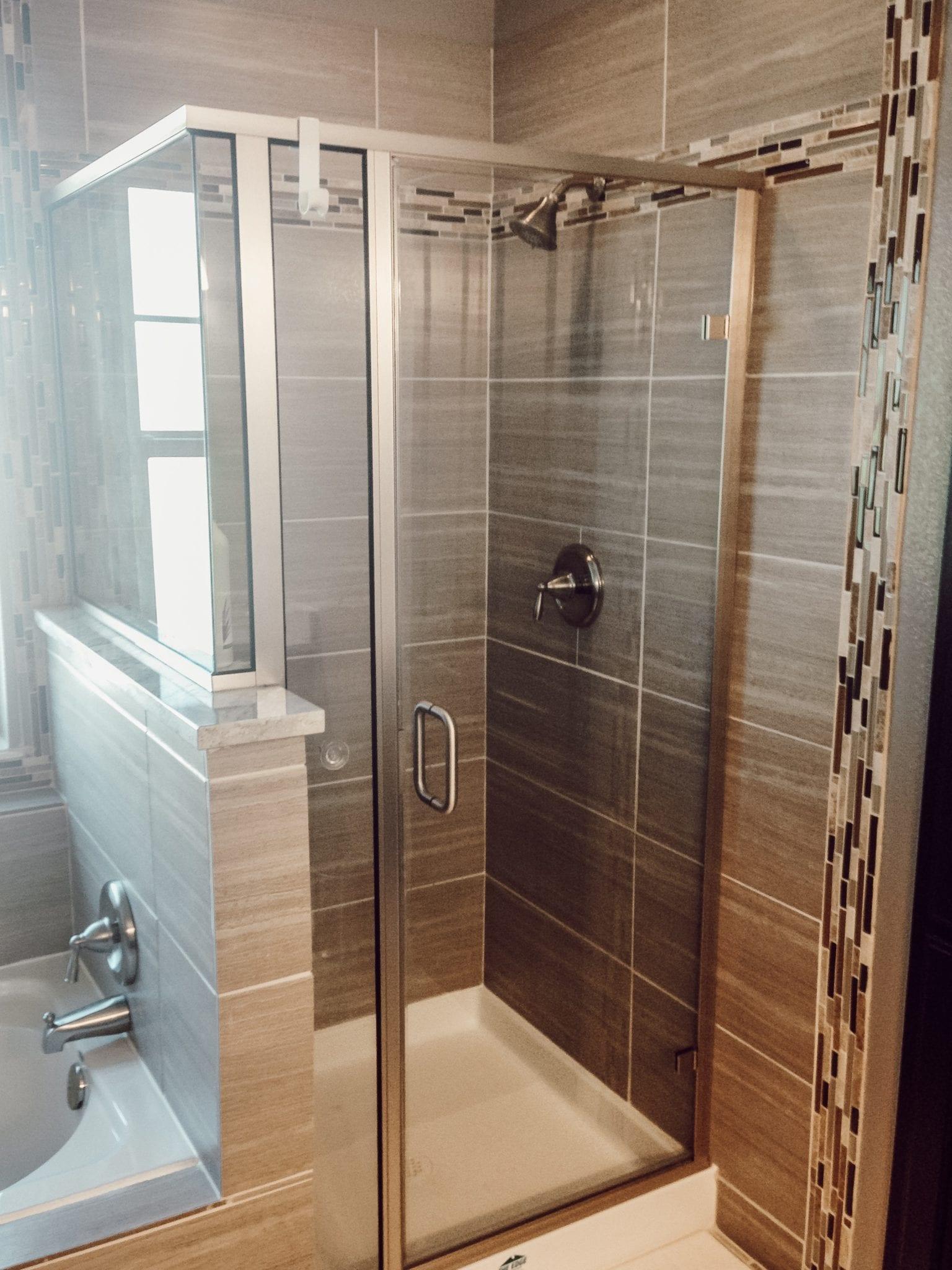 caddo mills shower remodel