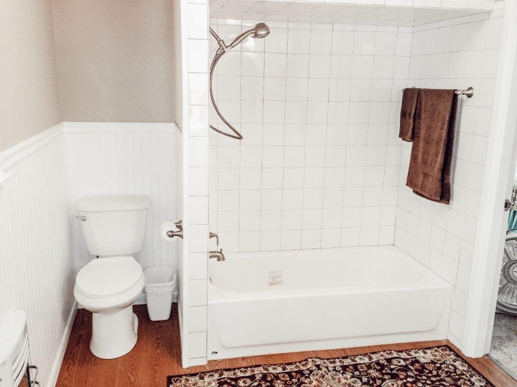 bathroom remodel all white full