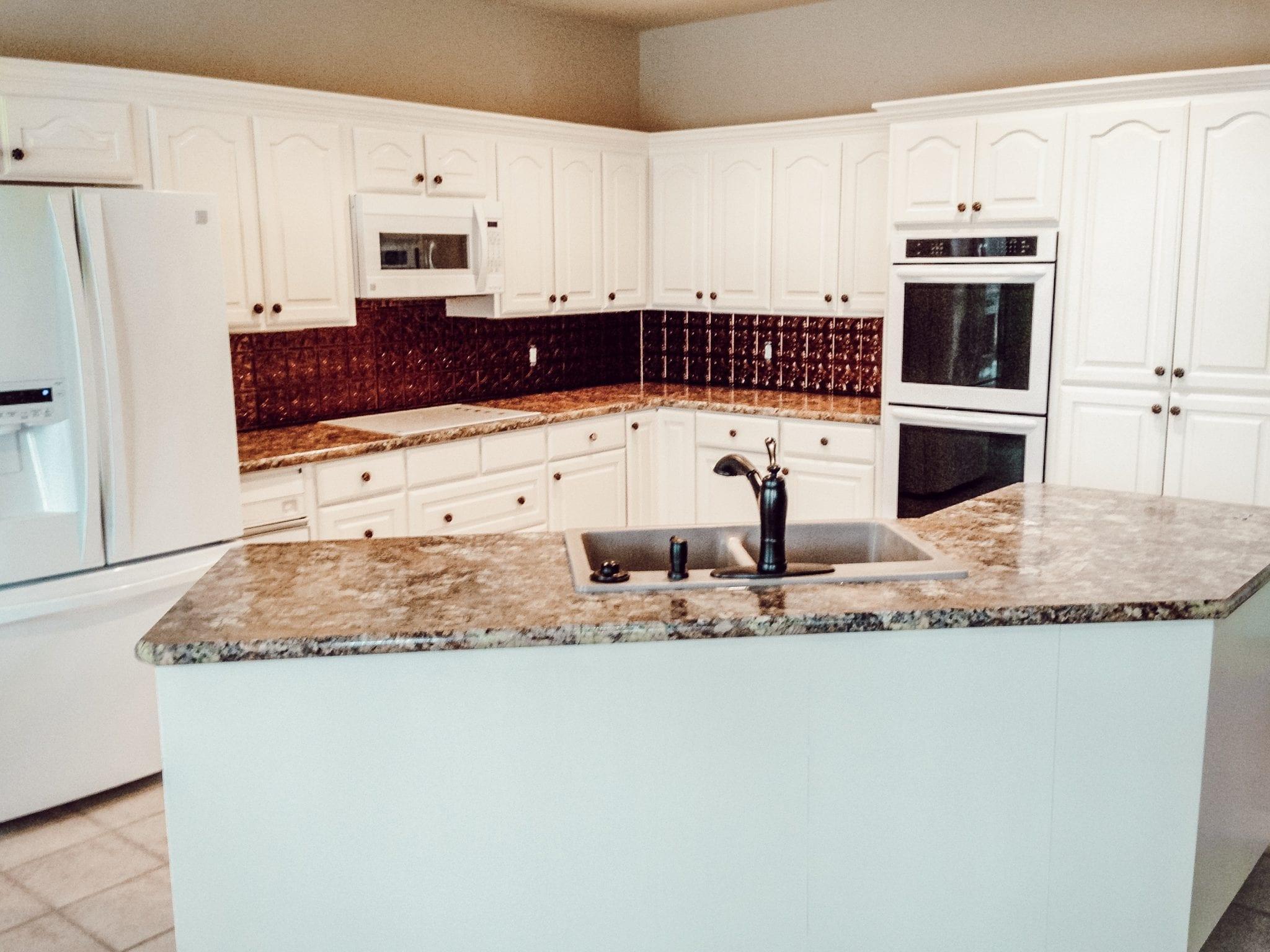 finished kitchen remodel h&h construction
