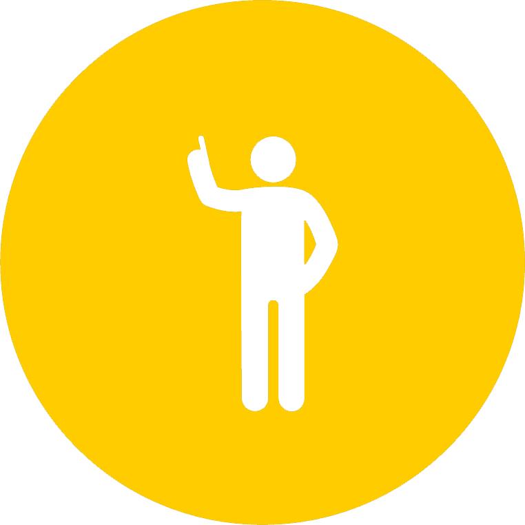 gold person icon
