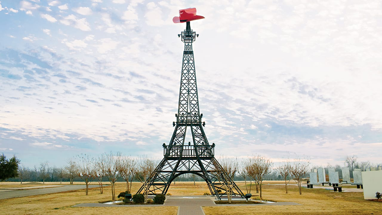 paris texas eiffel tower service area h&h construction