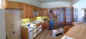 During Kitchen Remodeling in McKinney, TX