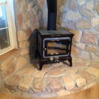 LaPorte Fireplace Installation-Complete