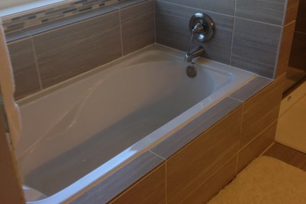 Caddo Mills Bathroom Remodel-Tub