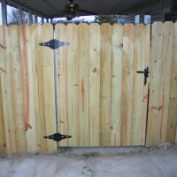 Residential Fence Installation-Gate